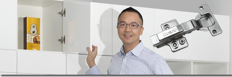 3D移位调节铰链
