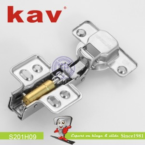 不锈钢阻尼铰链(固装)S201H09