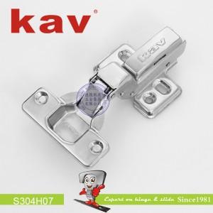 不锈钢阻尼铰链(固装)S304H07