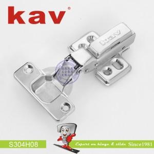 不锈钢阻尼铰链(固装) S304H08