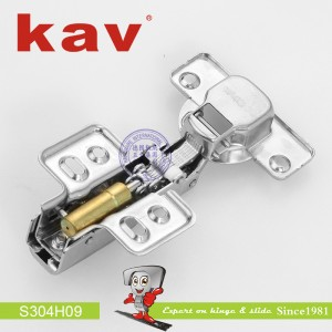 不锈钢阻尼铰链(固装)S304H09