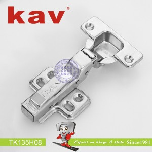 一段力阻尼铰链拆装 TK135H08