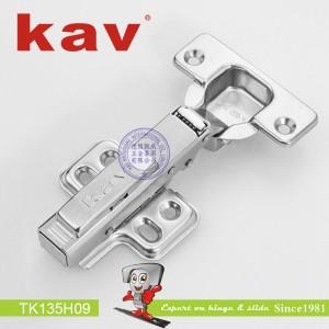 一段力阻尼铰链拆装 TK135H09