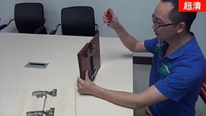 【kav柜门阻尼铰链系列教程】三维液压铰链的螺丝方位如何调节