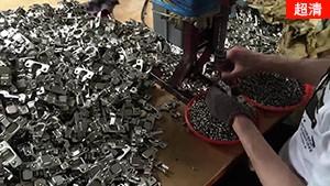 【kav橱柜铰链】短臂液压阻尼铰链车间生产视频