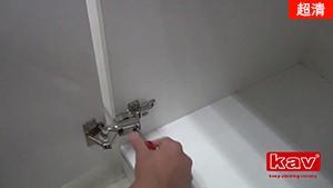 165度液压铰链的应用及安装调节方法