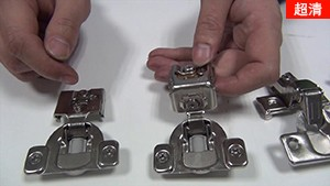 kav美式短臂柜门阻尼铰链的应用【美式带框橱柜液压缓冲铰链】