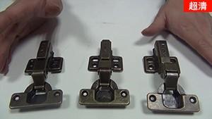 kav青古铜阻尼铰链在实木家具上的应用【仿古家具液压缓冲铰链】