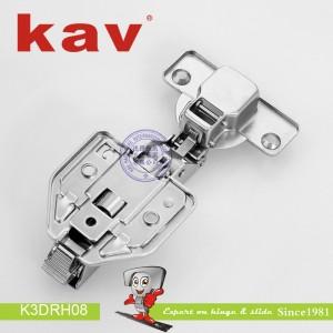 三维调节液压铰链K3DRH08 (2)