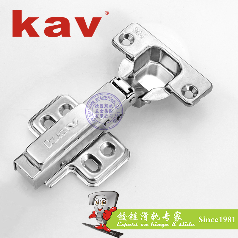 304不锈钢液压铰链(拆装合金尾)【不锈钢工业铰链】 AK304H