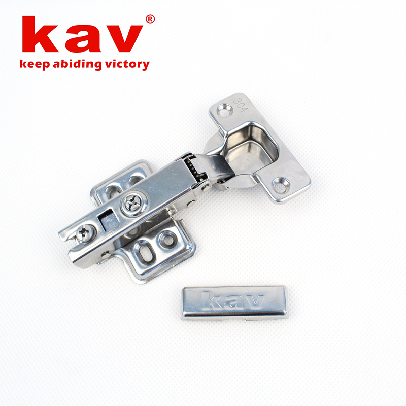 304不锈钢液压铰链(固定装)新款【不锈钢阻尼家具铰链】 AS304H