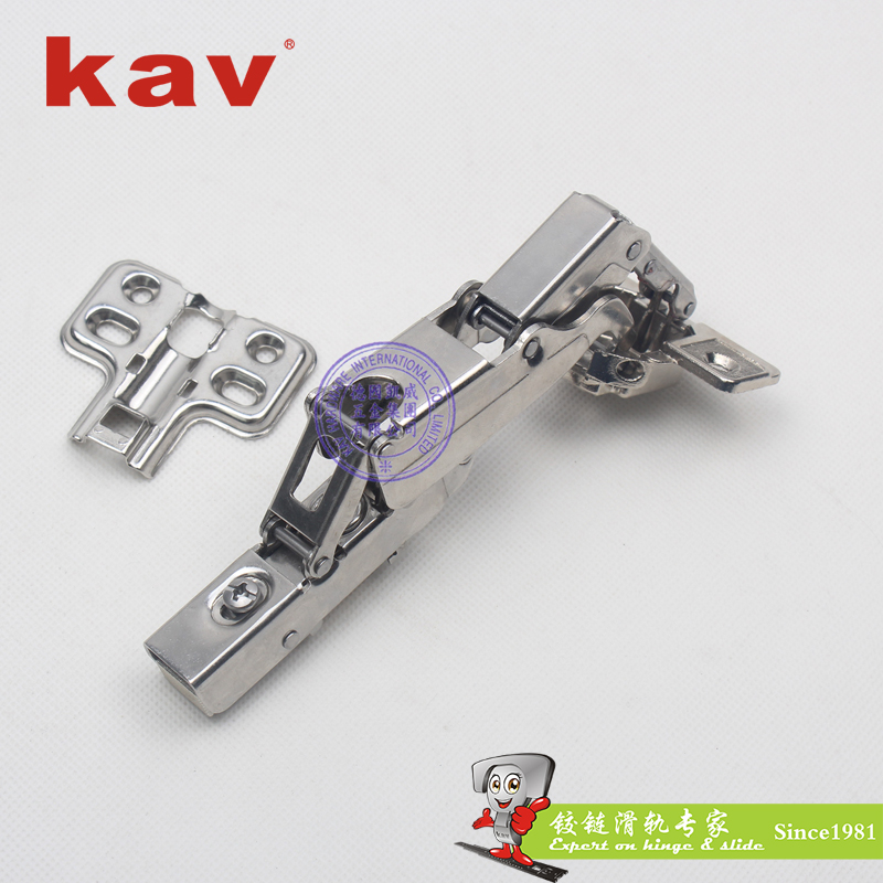 K165H-201 165度快装液压铰链(201不锈钢合金杯头)
