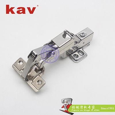 165度快装液压铰链(201不锈钢合金杯头) K165H-201