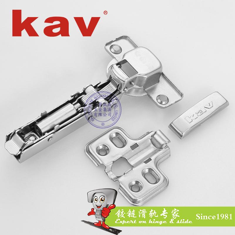 二段力液压铰链【阻尼橱柜铰链】 快装 铁扣 K235H