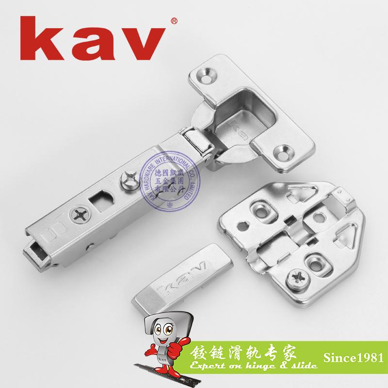 K3DMH 二段力大角度三维液压铰链(可开启120度) 直弯