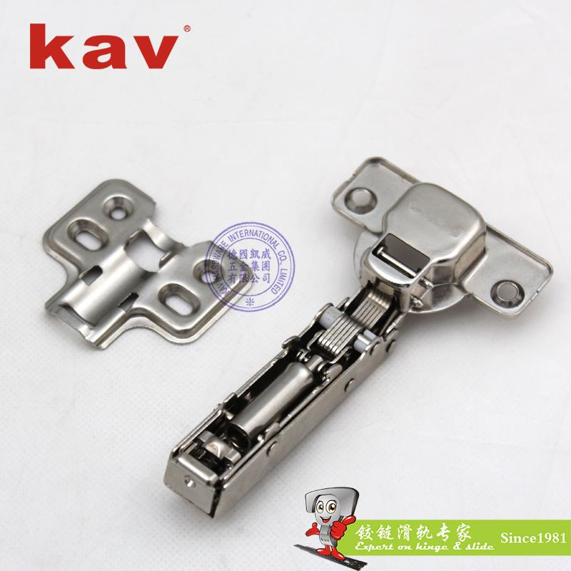 35杯一段力液压铰链【阻尼家具铰链】 固装 盖厚板 LK135H