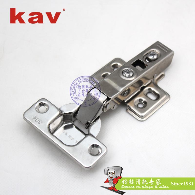 纯正304不锈钢液压铰链【不锈钢家具铰链】 固定开尾 LS304H