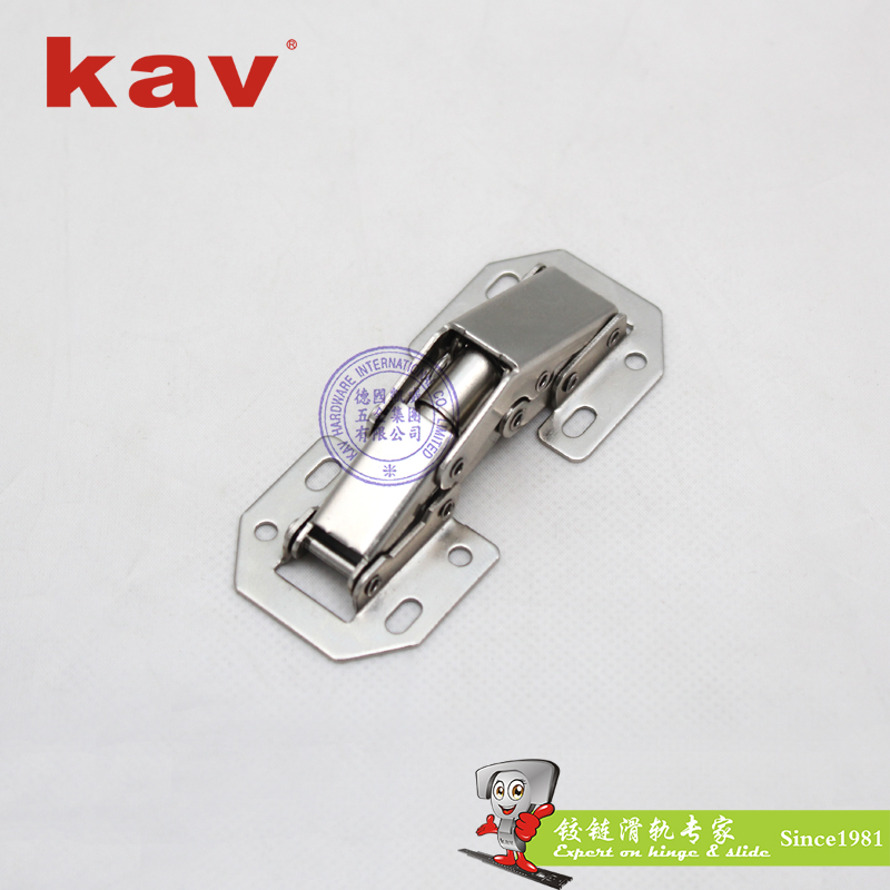 kav90度平头弹子铰链P90