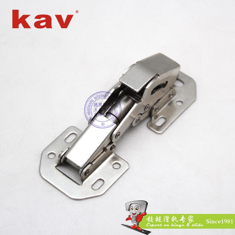 kav90度阻尼平头弹子液压铰链P90H