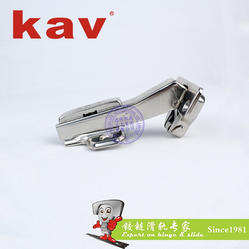kav45度柜门阻尼液压铰链S45H
