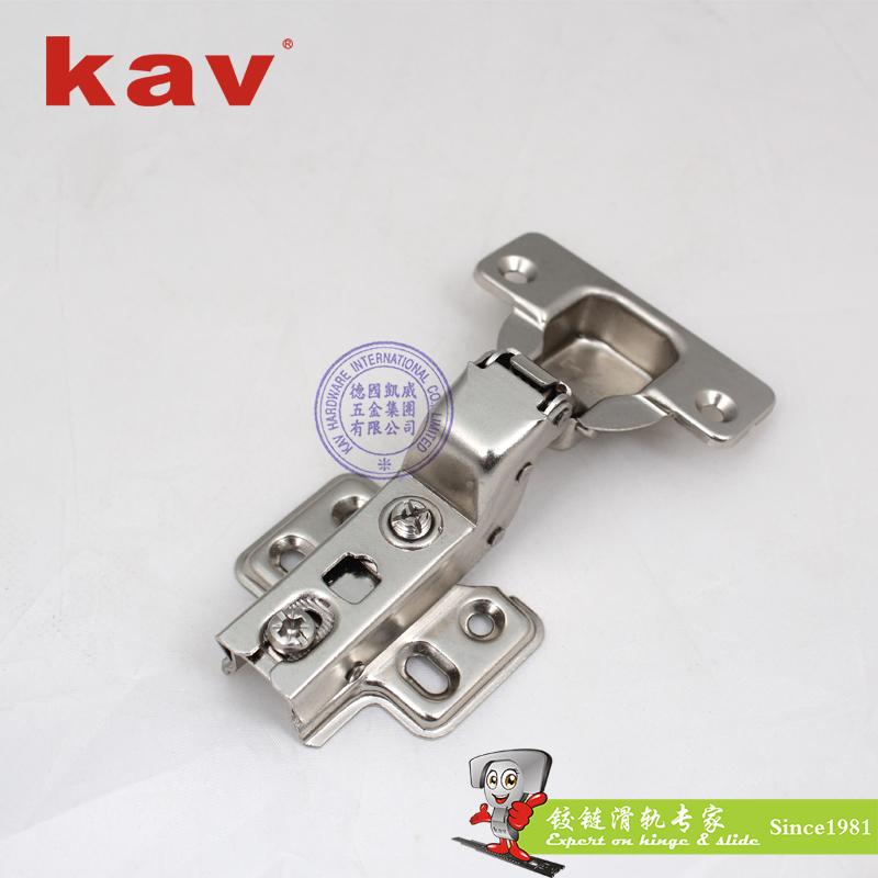 一段力液压铰链【橱柜门阻尼铰链】滑入式 锻打杆 TR135H
