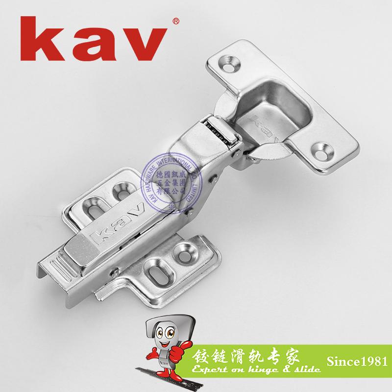 一段力液压铰链【橱柜门阻尼铰链】固装 闭尾 锻打杆 TSL135H