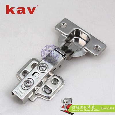 201不锈钢厚门液压铰链 固定装 XS40H