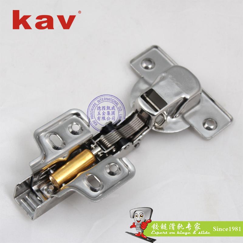 201不锈钢厚门液压铰链固定装 XS40H
