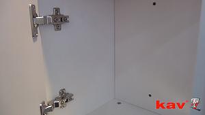 KAV45度液压缓冲铰链的应用介绍