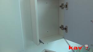 KAV触碰自开式反弹铰链的应用介绍