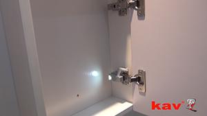 KAV LED照明铰链灯的应用介绍