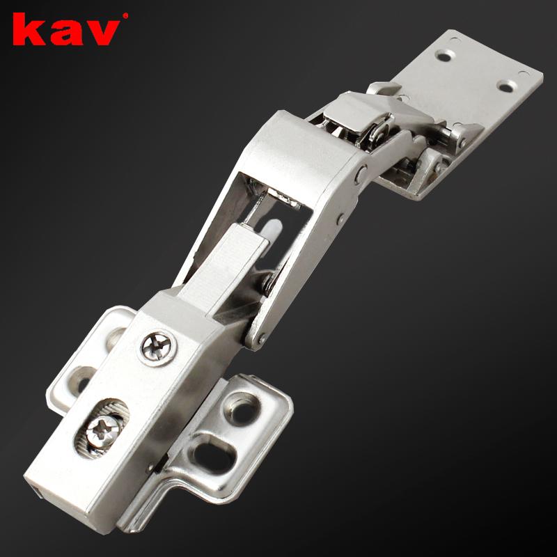 kav125度玻璃门缓冲铰链合页DGK125H-3