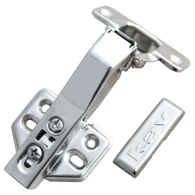 kav不锈钢45度液压铰链特殊角度柜门铰DS45H-201