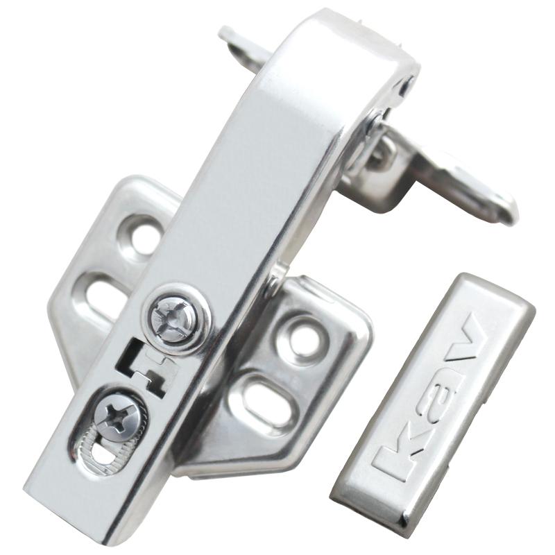 kav不锈钢90度液压铰链平启门缓冲铰链DS90H-201