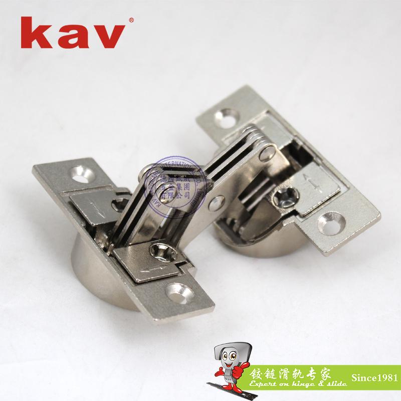 kav45度拼角柜门双杯铰链ZY90