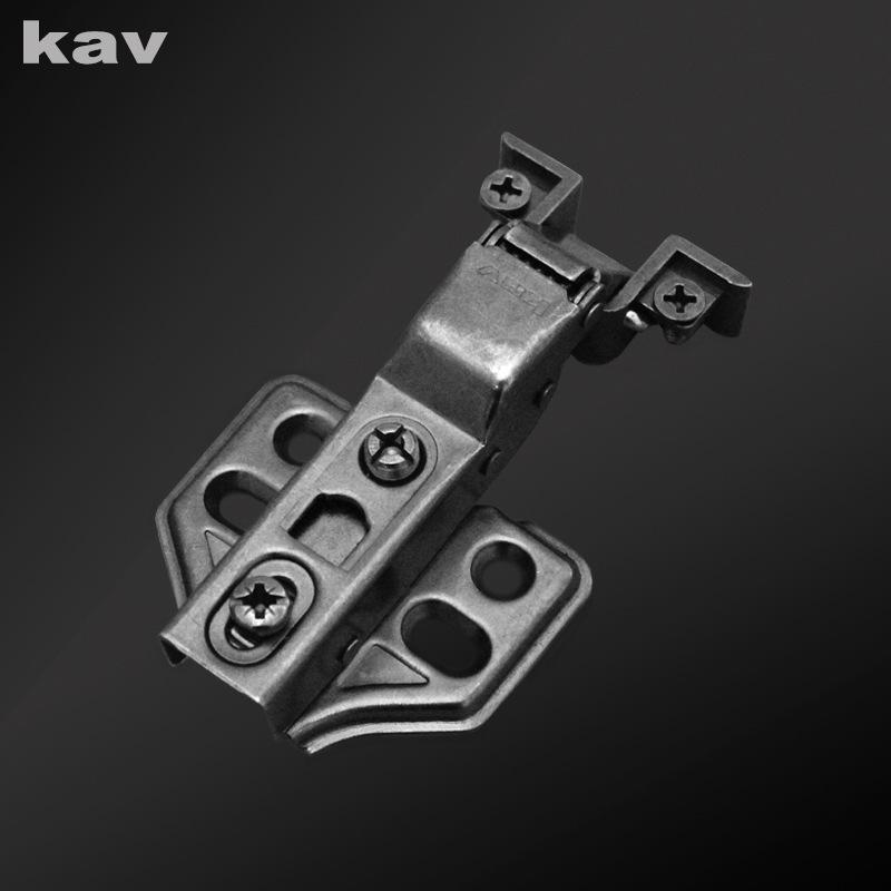kav直销方头拆装玻璃门铰链 黑色铝框玻璃门铰 枪黑铝窗平头铰链 SSC50H